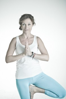 Yogalehrerin Giana Szabo