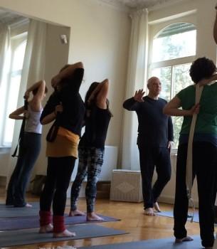 Max Strom im UNIT Yoga