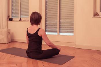 Das Thema Meditation und Pranayama fand Sabrina sehr spannend