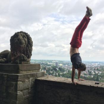 Bryan-Handstand