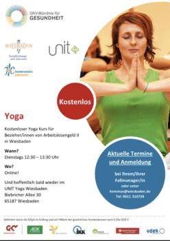 ALG II Yoga-Kurs bei UNIT Yoga